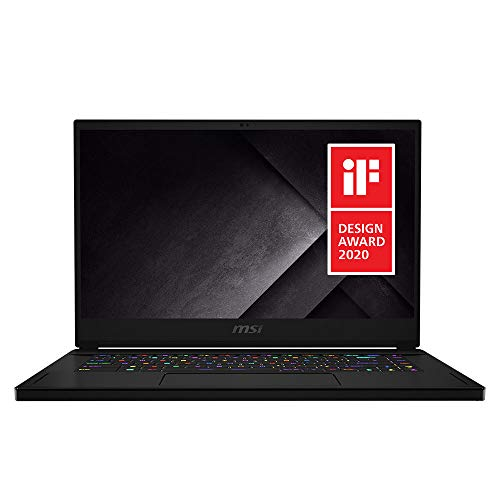 MSI GS66 Stealth 10SE-039 15.6' 240Hz 3ms Ultra Thin and Light Gaming Laptop Intel Core i7-10750H RTX 2060 16GB 512GB NVMe SSD Win10PRO VR Ready