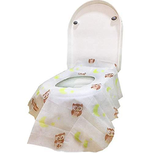 Children's Baby zindelijkheidstraining disposable wc-bril kussen volledige dekking waterdicht toiletbril cushion-niet-geweven stof tot verlengd wc kussen te verhogen jilisay