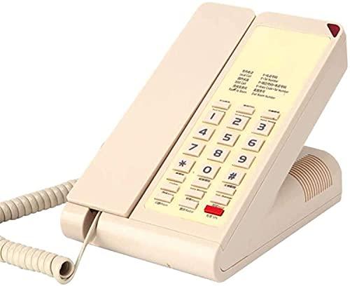 Teléfono Fijo inalámbrico Teléfono Fijo de Oficina en casa Teléfono Fijo Extensión del teléfono del Hotel