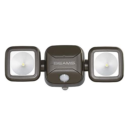 Mr. Beams MB3000 High Performance Wireless Battery Powered Motion Sensing LED Dual Head Security Spotlight, 500 Lumens… 3
