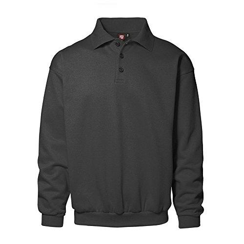 ID Herren Klassisches Polo-Sweatshirt (2XL, koks)