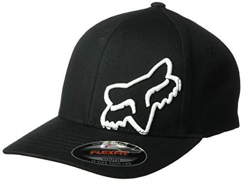Youth Flex 45 Flexfit Hat Black/White