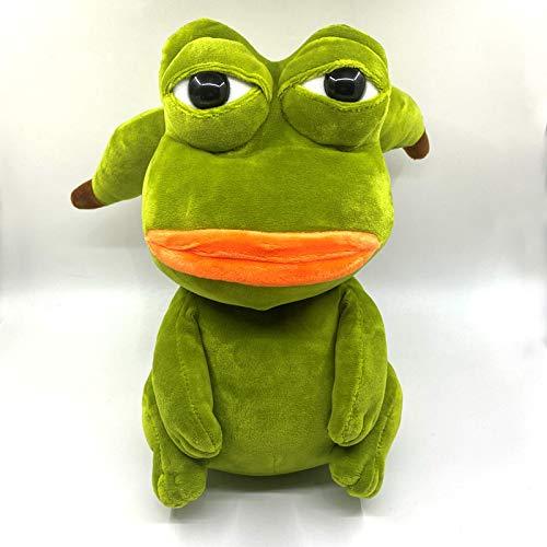 WSXF Rana Pikachu Juguetes De Peluche 25 Cm Pepe Frog Jenny Sand Frog Animal De Peluche Juguetes De Peluche para Niños