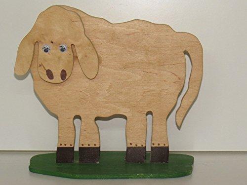 Holz-Schaf, ca. 20 x 23 cm