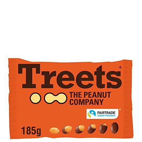 Piasten Treets Peanut, 185 g