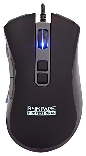 R4mpage RP-11200 Pro Professionelle Gaming Maus mit 10 progr