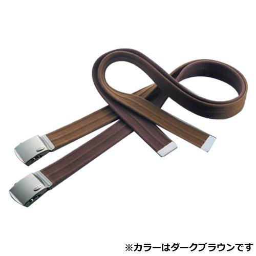 TOYO 綿ローラーベルト ダークブラウン No.CR38 ちょっとおしゃれなベルト 日本製
