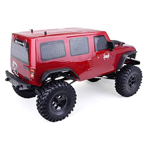 Yiwa RGT 86100 1/10 2.4G 4WD RC Rock Crawler Rojo