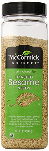 McCormick Gourmet Collection Toasted Sesame Seed, 15 Ounce