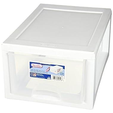 Sterilite Corp. 20518006 Sterilite Stackable Storage Drawer 12 7/8  D x 8 7/8  W x 6  H