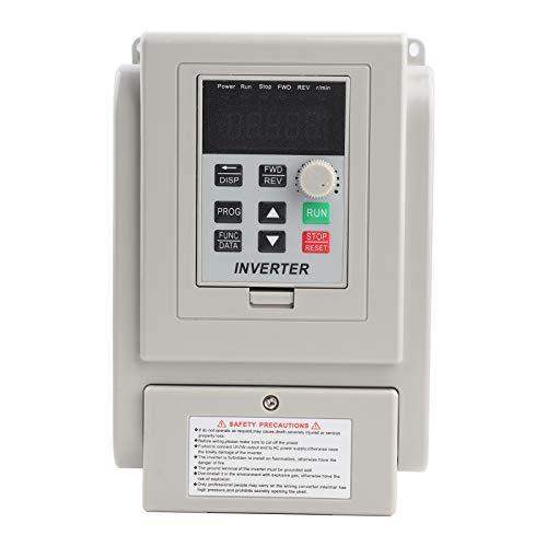 Variateur de fréquence, variateur de vitesse AT2-0750X, variateur de fréquence 220VAC Variateur de vitesse VFD pour moteur à courant alternatif monophasé 0.75kW