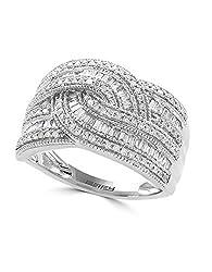 14K WHITE GOLD DIAMOND RING WZ0Y388DD3