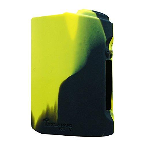 VAMPCASE Silikon Hülle für TESLA NANO 60W Schutzhülle Case - Schwarz/Gelb