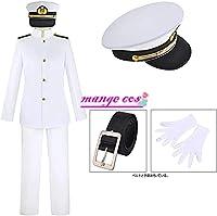 Mange 戦艦大和 海軍提督 コスプレ衣装 帽子付き 男女兼用 cosplay (女性, XL)