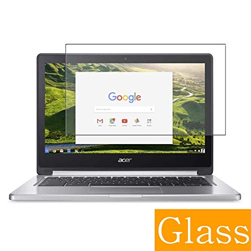 Synvy Tempered Glass Screen Protector Compatible with Google Chromebook R13 Acer 13.3 inch Visible Area 9H Protective Screen Film Protectors (Not Full Coverage)