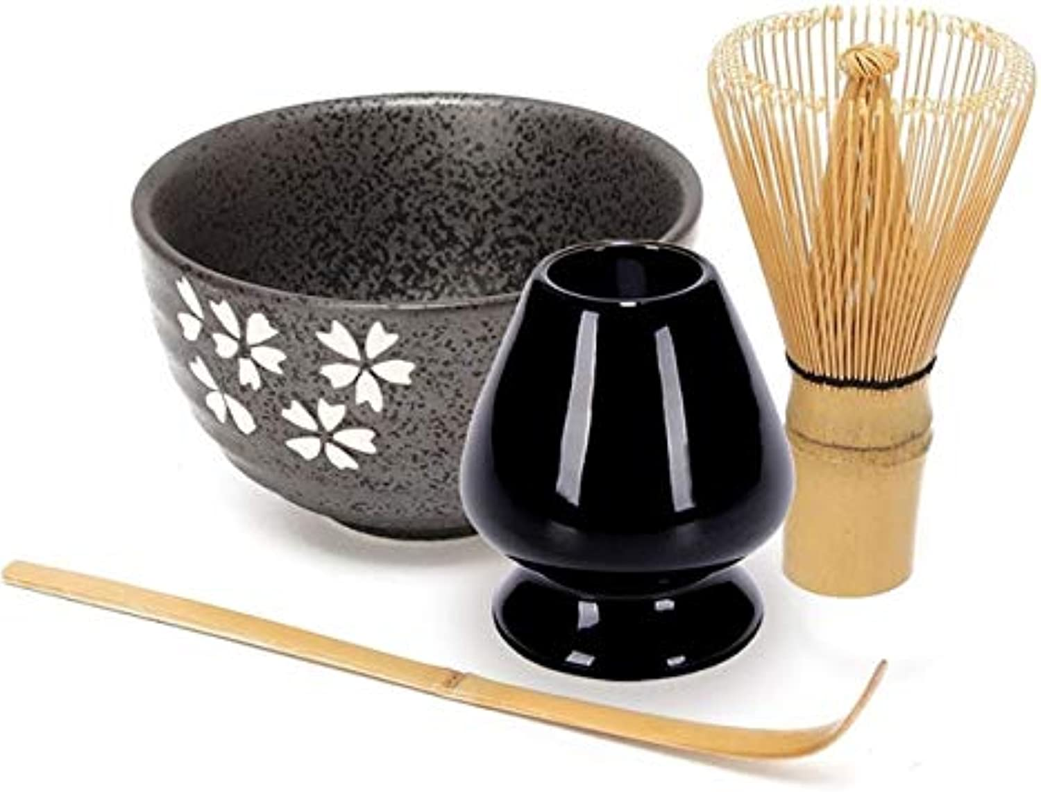 Japanese Matcha Tea Set Matcha Bowl Set Bamboo Scoop Chasen Holder Whisk Tea Ceremony Teaware Matcha Whisk Scoop Ceremic   C