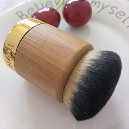 Ne pas manger en poudre fondation pinceau BB crème pinceau brosse de polissage poudre en poudre crème pinceau jeton grassouillet portable rond pinceau de maquillage plat