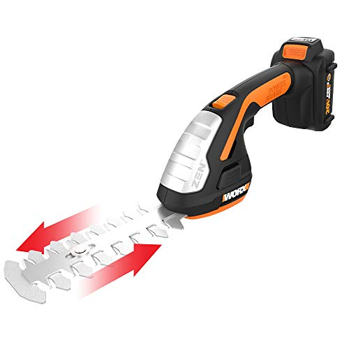 Worx WG801 20V Shear Shrubber Trimmer