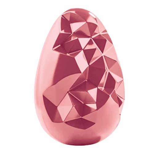 Uovo di Pasqua di puro cioccolato ruby 300gr