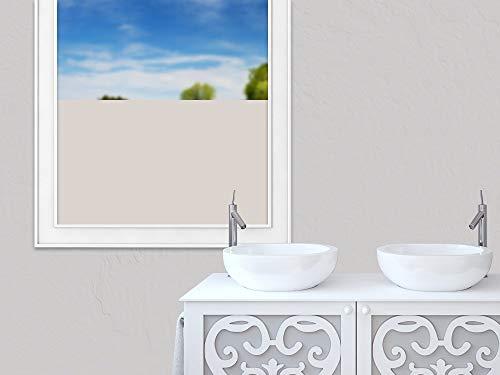 GrazDesign Raamfolie, zelfklevend, brede balken, eenvoudig, ter decoratie en privacy, ondoorzichtige glasdecoratiefolie 100x57cm