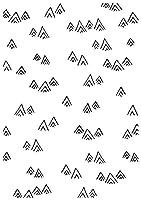 """Kaisercraft Embossing Folder 4""""X6""""-Mountains"""