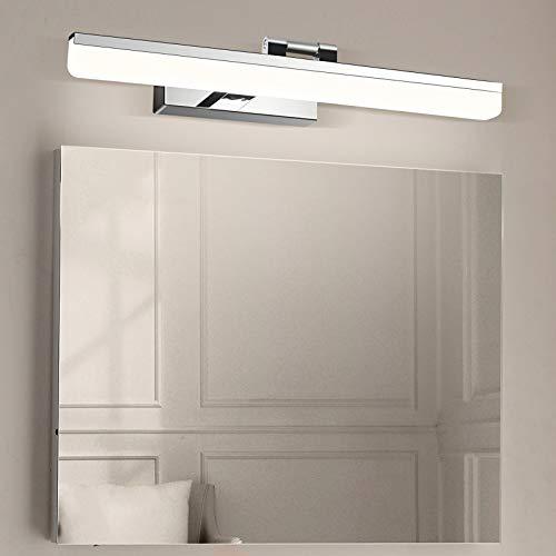 Wowatt Lámpara de Espejo LED 9W 720LM Aplique Espejo Baño 220V 40cm...