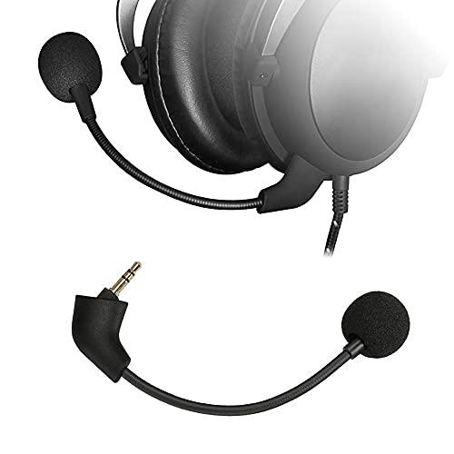 Micrófono de repuesto para los auriculares de juego Kingston HyperX Cloud II/Cloud Core de ordenador.