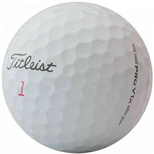 lbc-sports Titleist Pro V1x golfballen - AAAA - AAA - wit - Lakeballs - gebruikte golfballen