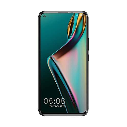 ELEPHONE U3H Face Unlock NFC Smartphone,6,53 Zoll FHD+ Display Vollbild,Back Fingerprint,3500 mAh,Android 9.0,Globale Version (Schwarz, 6GB+128GB)