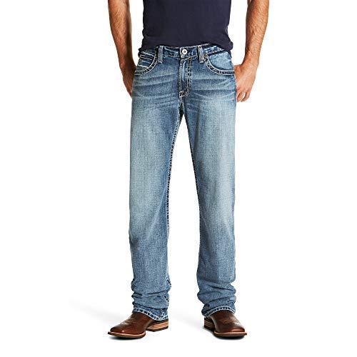 Ariat Men's M4 Low Rise Boot Cut Jean, Quarterline Canyon, 34X38