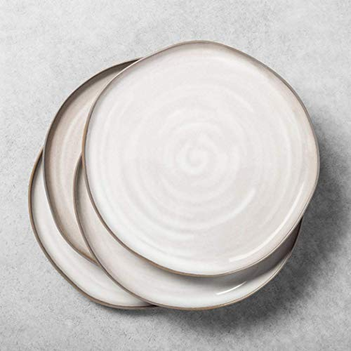 Reactive Glaze Dinnerware Collection - Hearth & Hand with Magnolia (Set of 4, Gray Dinner Plate)