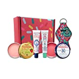Smith's Rosebud Salve, Strawberry And Minted Rosebud Lip Balm Gift Set In Tin Can And Tube, Chapstick Holiday Collection Gifts Box-Lip Gloss Bundle Holiday Chapstick Holiday Giftbaskets