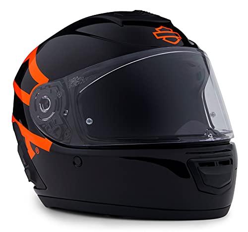Harley-Davidson Unisex Integralhelm Boom Audio N02 Full-Face Motorradhelm ECE geprüft Motorrad Biker Helm Bluetooth, 2XL