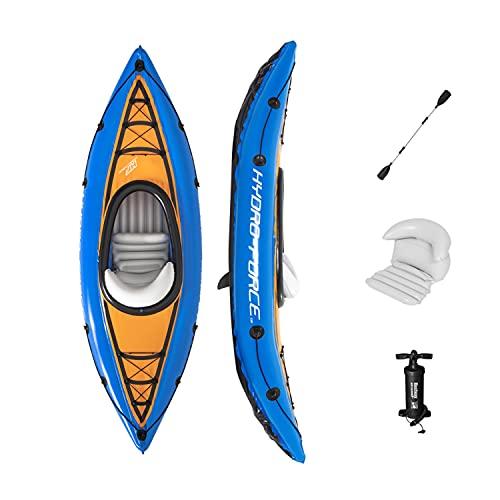 WEUN Aufblasbares Boot für Kinder, 275 * 81cm Aufblasbare Flöße für Erwachsene Angeln Beihy Touring Kayak für Swimmingpool Angeln geeignet
