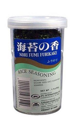JFC Nori Fumi Furikake Rice Seasoning, 1.7-Ounce Jars (Pack of 10)