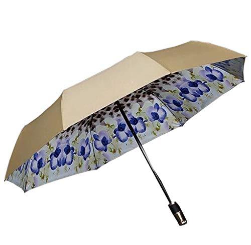 CEyyPD Bolsa de paraguas 140 km/h resistente al viento – Incluye bolsa de paraguas y bolsa de viaje automática – Compacta, ligera, estable, resistente al viento