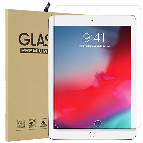 Qoosea Compatible with iPad Mini 5 Screen Protector Ultra-Thin 2.5D 9H Anti Scratch Hardness...