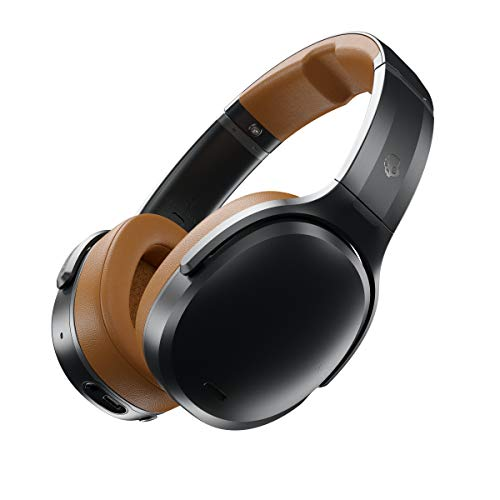 Skullcandy Crusher Active Noise Cancellation Wireless Over-Ear Headphone (Tan/Black)