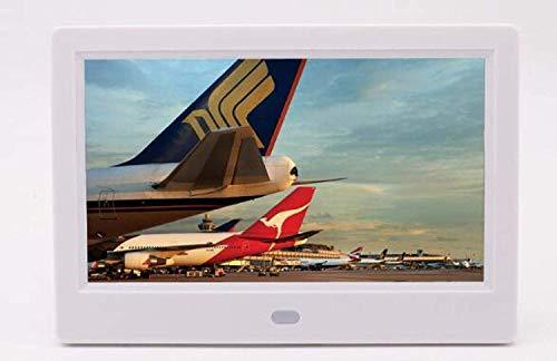 TUNBG digitale fotolijst Hd digitaal fotoalbum 7-inch wandmontage automatische schakelaar machine elektronische fotolijst wit