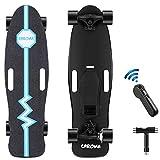 CAROMA Elektrisches Longboard Skateboard, 20 km / h, 8 Meilen...