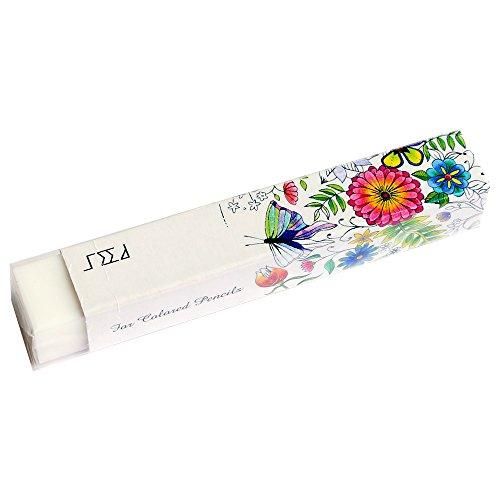 SEED カラージュ 色鉛筆用消しゴム W74×H12×D12mm ホワイト EP-CP1