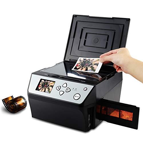 DJG 4-in-1 Film Scanner, 22-Megapixel 35Mm & 135 Film Scanner, High-Speed Multifunction Photo/Business Card Scanner