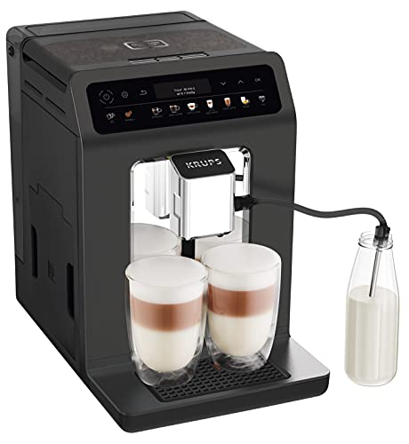 Krups Evidence One EA895N - Macchina da caffè automatica, 1450, colore: Grafite