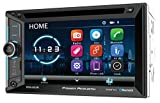 Power Acoustik Stereos - Power Acoustik PDN-623B Double DIN with 6.2-inch LCD, DVD, CD/MP3 Car Stereo with Bluetooth and GPS Navigation