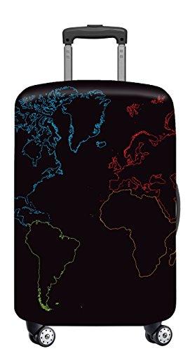 VELOSOCK Copertura per Bagagli GLOBAL - mantiene la Valigia da Viaggio Pulita e Protetta - PER TUTTI I BAGAGLI MEDI (60-72 cm di altezza)