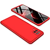 Luxus-Hybrid-Schutzhülle für Samsung Galaxy A12 A72 A 12 72 Hardcover PC 3-in-1 Handyschale...