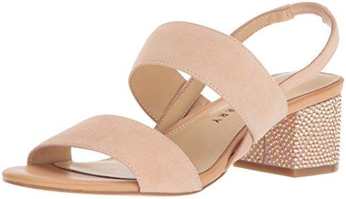 Katy Perry Women's The Annalie Heeled Sandal, blush nude, 8 Medium US