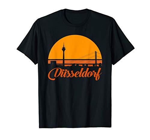 Düsseldorf, die Landeshauptstadt am Rhein Design Shirt
