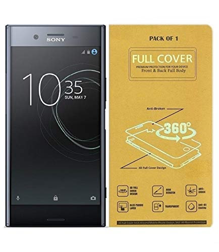Blue Blood® 360° Buff Guard [Front + Back + Camera Lens] [Not Tempered Glass] Full Body Coverege Screen Protector for Sony Xperia XZ Premium − List 1155