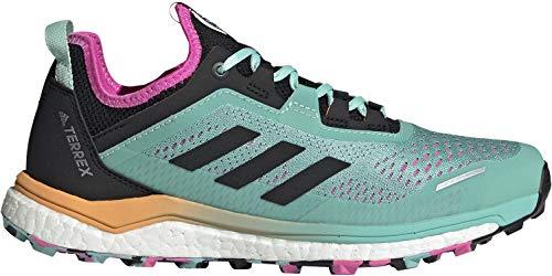 adidas Terrex Agravic Flow W, Zapatillas de Trail Running Mujer, MENACI/NEGBÁS/ROSCHI, 39 1/3 EU